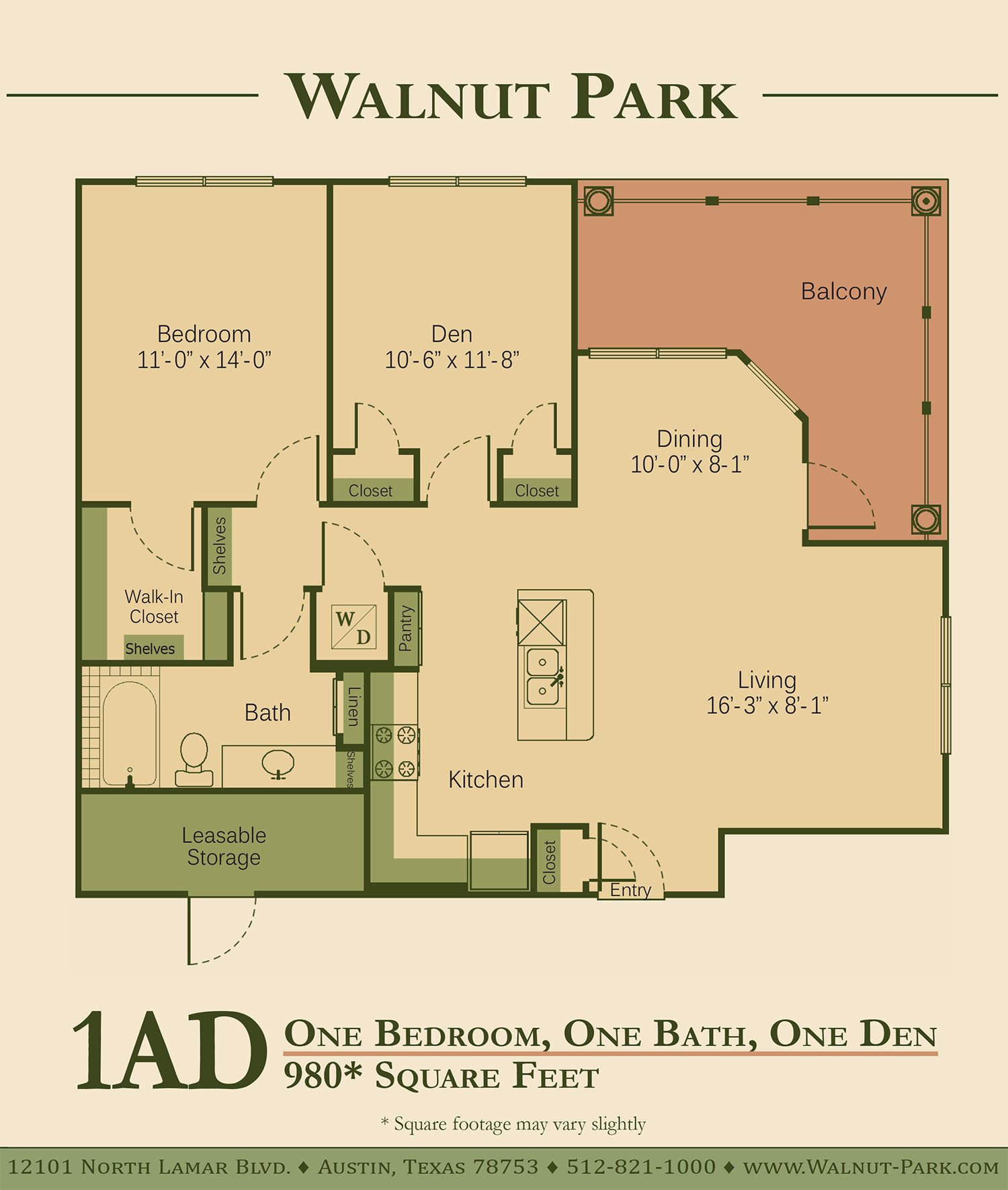 Walnut Park Apartment